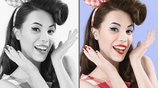 Photoshop Tutorial: Best Way to Colorize Black & White Photos!