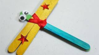 getlinkyoutube.com-How to make apopscicle stick dragonfly - EP - simplekidscrafts