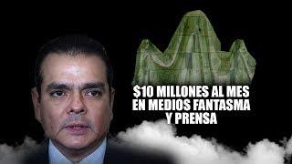 Gasta Rivas $10 millones al mes en medios fantasma y prensa