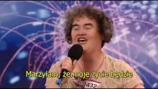 getlinkyoutube.com-Napisy Polskie Susan Boyle - Britain's Got Talent [Polski]