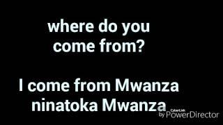JIFUNZE KIINGEREZA: namna ya kujitambulisha