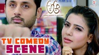 A Aa Movie || TV Comedy Scene || Nithin || Samantha || Trivikram Srinivas