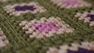 getlinkyoutube.com-Crochet for Knitters - Granny Square Blanket