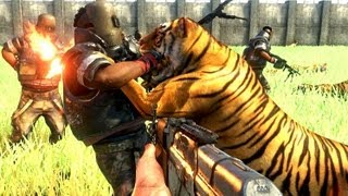 getlinkyoutube.com-Far Cry 3 Massive Scale Battles 100 Tigers Vs 100 Pirates