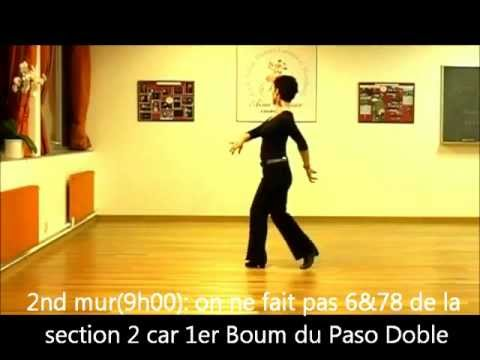 Spanish Flamenco Matadors - Line Dance- Paso Doble