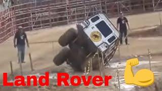 getlinkyoutube.com-Land Rover Defender - Extreme & Rough Off Road Challenges