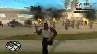 getlinkyoutube.com-GTA: San Andreas Zombie Alarm Modu