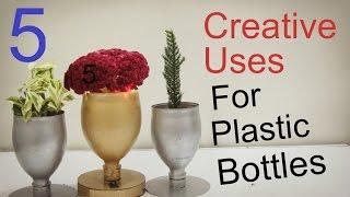 getlinkyoutube.com-5 Creative Uses For Empty Plastic Bottles