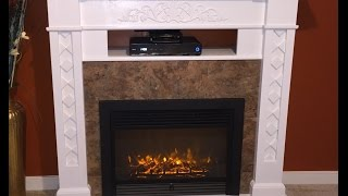 DIY electric fireplace || $250