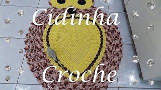 getlinkyoutube.com-Croche- Tapete Coruja -(Gigante)1,42 x 1,13- Passo A Passo- Parte 1/ 3