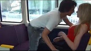 getlinkyoutube.com-شاب قام بتقبيل فتاة داخل القطار بدون موافقتها   لكن ما فعله في القطار أكثر من ذلك بكثير  القطار2016