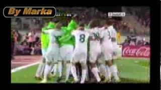 L'Algérie en coupe du monde 2014 Vidéo pas comme les autre (But Joie Joueurs et Supporter Chanson )