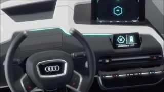 getlinkyoutube.com-Audi James 2025 virtual cockpit of the future