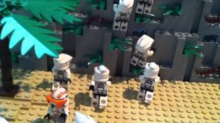 Lego Star Wars the Clone Wars Droid Bunker on Mandalore Moc