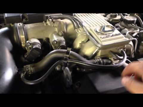 Ls400 power steering idle up valve delete