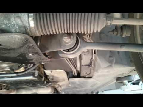 Замена геометрических болтов на рычагах передней подвески MB - W203