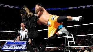 getlinkyoutube.com-The Usos vs. Seth Rollins & Roman Reigns: SmackDown, Dec. 13, 2013