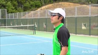 getlinkyoutube.com-【みんラボ】テニスレッスン駒田研究員のバックハンドスライスのコツ