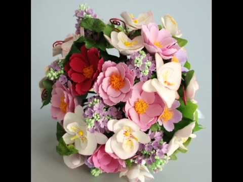 Presents Flowers handmade bridal bouquet