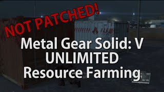 getlinkyoutube.com-MGS:V - Unlimited Resource Farming (NOT patched!)