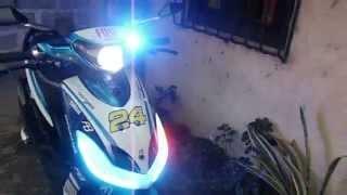 getlinkyoutube.com-Mio sporty LED set up