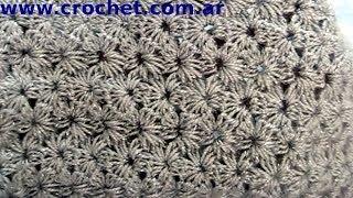 getlinkyoutube.com-Punto jazmín tradicional en tejido crochet tutorial paso a paso.