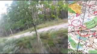 getlinkyoutube.com-Head Cam Orienteering With GPS Tracking [Full HD]