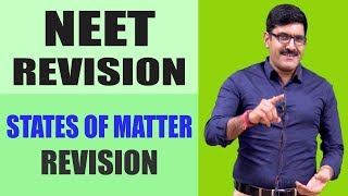 States of Matter Revision | NEET 2018