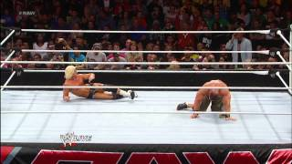 getlinkyoutube.com-John Cena vs. Dolph Ziggler: Raw, Jan. 7, 2013