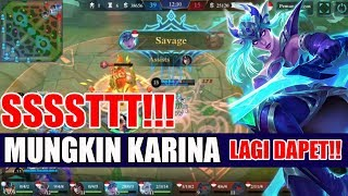 PEDES!! Karina GG Borong SAVAGE dan Fast Farming | Mobile Legends Indonesia