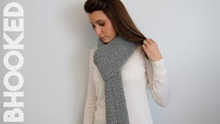 How to Crochet a Scarf for Complete Beginners