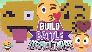 getlinkyoutube.com-Emojis | Build Battle | Minecraft Building Minigame