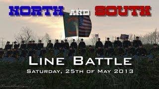 getlinkyoutube.com-Mount and Blade - Line Battle (North & South Mod) - Saturday Event  25-05-2013)