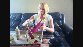 getlinkyoutube.com-DIY Louboutin Glitter Pumps