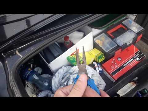Замена топливного фильтра Опель Вектра С
