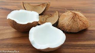 How To Prepare Fresh Coconut