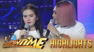 It's Showtime Miss Q & A: Vice Ganda tries to make it up to Bela