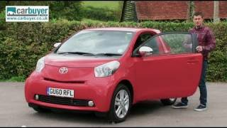 getlinkyoutube.com-Toyota iQ hatchback review - CarBuyer
