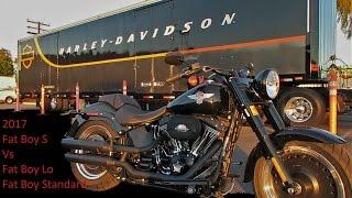 """getlinkyoutube.com-2017 Harley Davidson Fat Boy """"S"""" Review & Test Ride │ Vs Fat Boy Lo & Fat Boy Standard"""