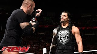 Roman Reigns & Randy Orton vs. The New Day – 2-on-3 Handicap Match: Raw, May 4, 2015 width=