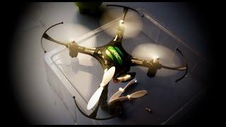 Посылка из Китая - JJRC H8 Mini или печальная распаковка, нерабочий квадрокоптер от GearBest :-)