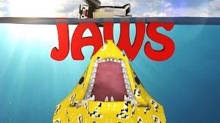 Minecraft | LUCKY BLOCK BOSS CHALLENGE - JAWS SHARK ATTACK! (Sharks, Great White Shark)