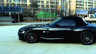 getlinkyoutube.com-BMW Z4 E85 REBS 4POT BRAKE KIT INSTALL