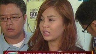 24Oras: Nobya ni Ramgen Revilla na si Janelle Manahan, emosyonal nang tumestigo sa korte