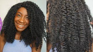 getlinkyoutube.com-NATURAL HAIR WIG UNDER $30 | MODEL MODEL JAMAICAN TWIST