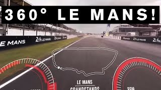 getlinkyoutube.com-INCREDIBLE 360 DEGREE VIDEO! GT-R Drives First EVER 360 VR lap of #LeMans #GTR #NISMO