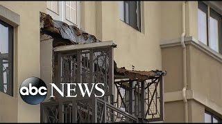 getlinkyoutube.com-6 Killed in Deadly Balcony Collapse in Berkeley California