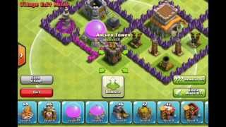 getlinkyoutube.com-Town Hall Level 8 Trophy Base Design