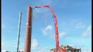 getlinkyoutube.com-NKR Demolition extreme - supermachine 50 meter long range/ NKR Demolition Group - chimney