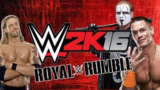 getlinkyoutube.com-WWE 2K16 - The Outcome [30-Man Royal Rumble] - Xbox One Gameplay